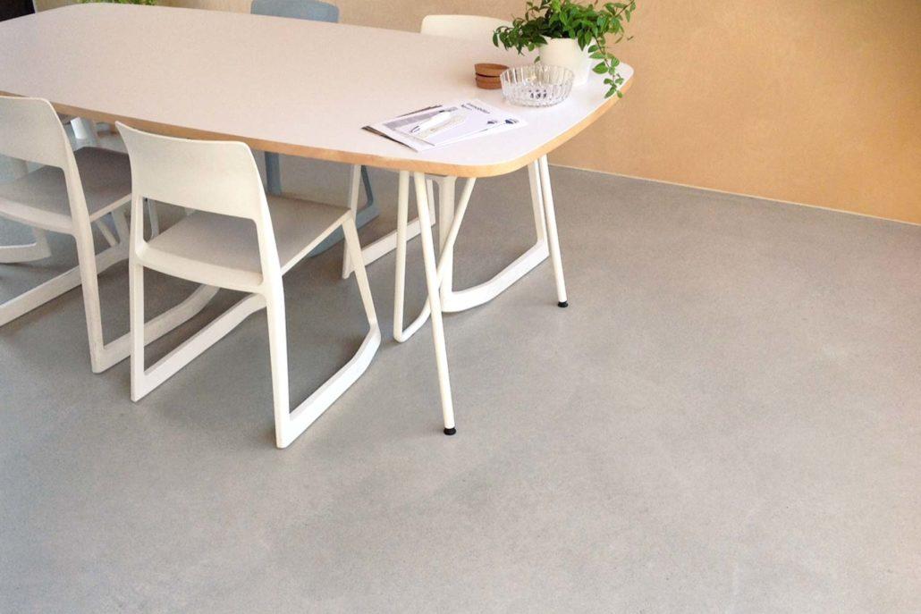 polierter estrich als fussboden estrich als bodenbelag. Black Bedroom Furniture Sets. Home Design Ideas