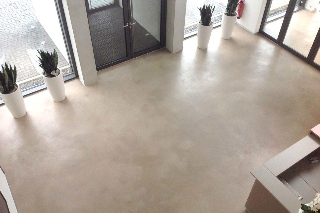 Sicht Estrich betonbodendesign projekte betonboden design