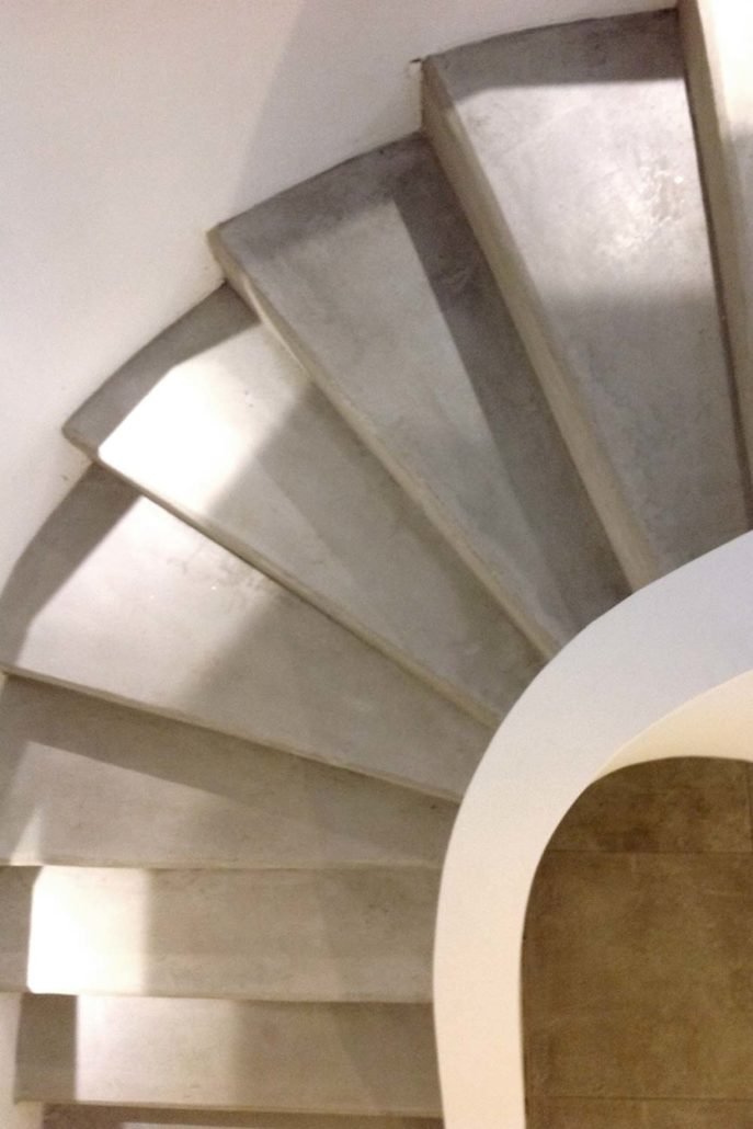 sichtbeton treppe