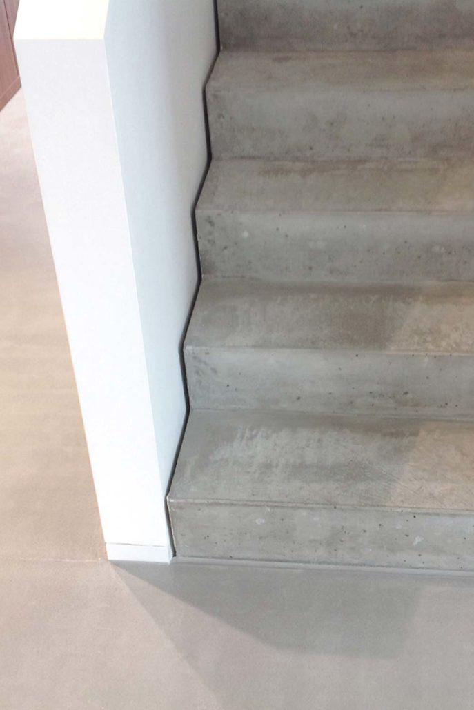sichtestrich treppe